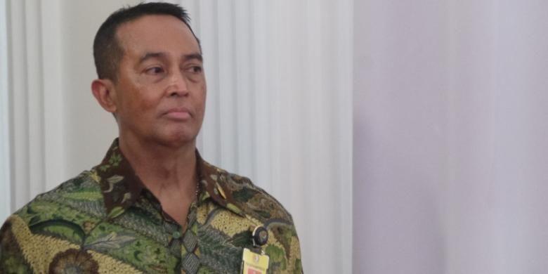 Komandan Pasukan Pengamanan Presiden Mayor Jenderal Andika Perkasa