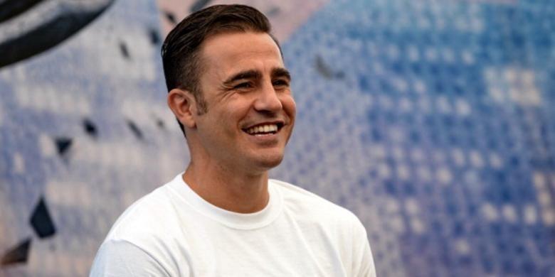 Mantan pemain tim nasional Italia, Fabio Cannavaro.