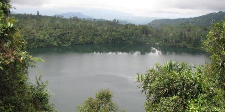 Danau Ranamese di Ruteng, Nusa Tenggara Timur.