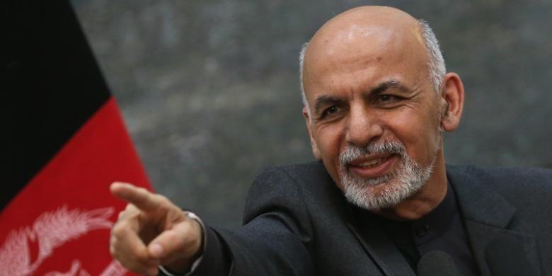 Presiden Afganistan, Ashraf Ghani.