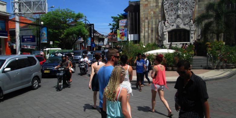 Kawasan Legian, Kuta, Bali.