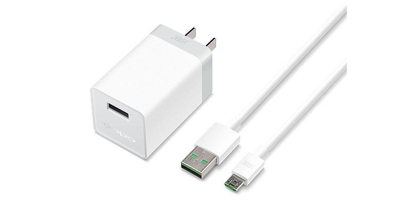 Ilustrasi charger Oppo R5