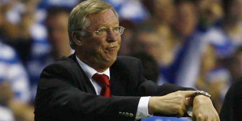 Mantan manajer Manchester United, Sir Alex Ferguson.