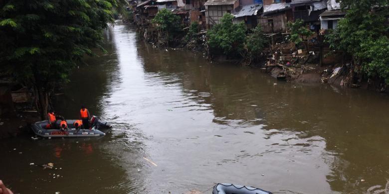 Ilustrasi Sungai Ciliwung