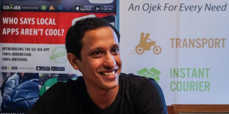Nadiem Makarim, pendiri dan CEO Go-Jek