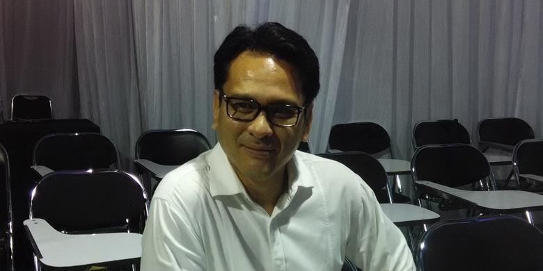 Nufransa Wira Sakti, Deputi Direktur Kemenkeu, saat ditemui usai mengisi acara Social Media Week 2015, di Pacific Place, Jakarta, Selasa (24/2/2015)