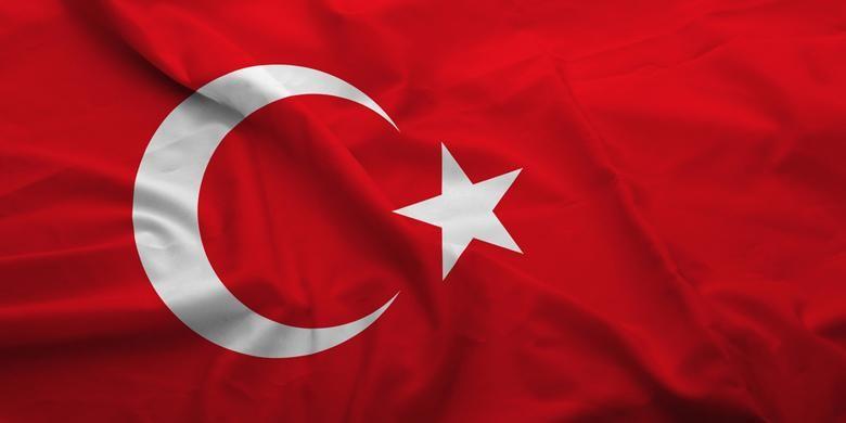 Bendera Turki.