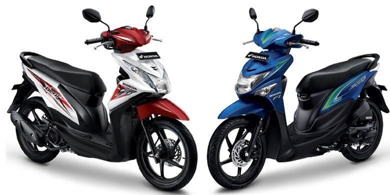 Honda BeAT eSP menjadi pilihan baru pada 2015. Model ini tetap menjadi favorit pengguna skutik di Indonesia.
