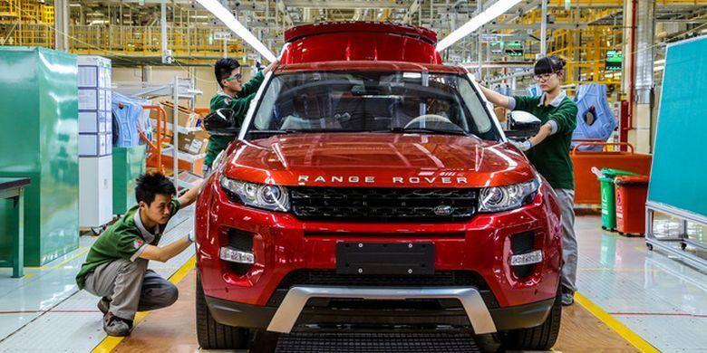 Pabrik perakitan Jaguar Land Rover