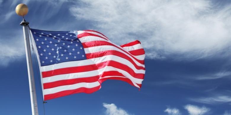 Bendera Amerika Serikat.