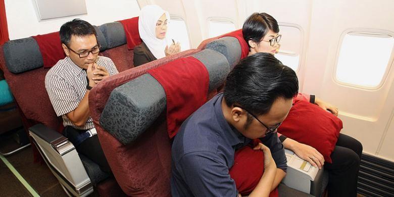 Kondisi turbulensi yang dialami pesawat saat terbang sering membuat sindrom terbang semakin menjadi.