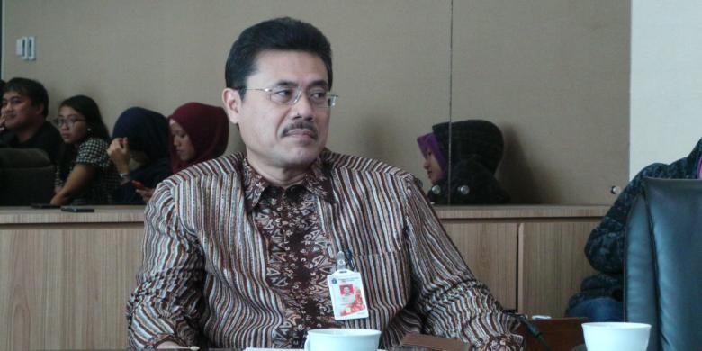 Asisten Sekda bidang Pemerintahan DKI Bambang Sugiyono