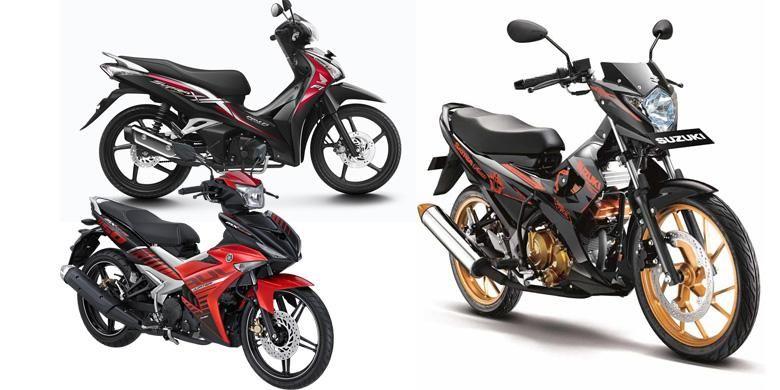 Pilihan sepeda motor bebek untuk harian, masih menjadi alternatif.