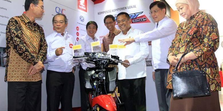 Honda BeAT yang diekspor ke Filipina mengandung 98,8 persen komponen lokal.