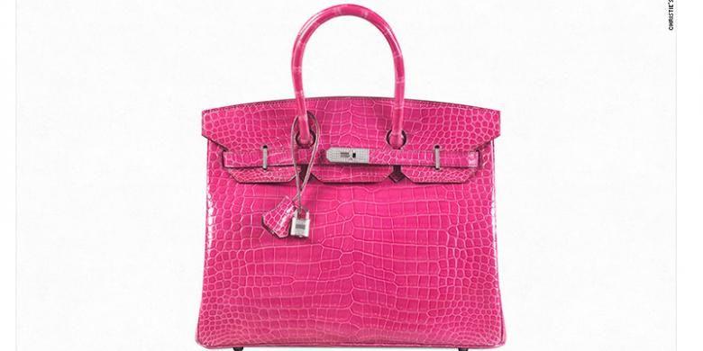 Tas Birkin ini berhasil dilelang dengan harga milyaran rupiah