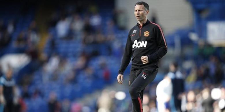 Asisten pelatih Manchester United, Ryan Giggs.