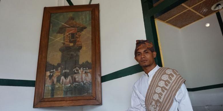 Lukisan Bung Karno tersimpan di Rumah pengasingan Bung Karno di Jalan Perwira, Ende, Flores, Nusa Tenggara Timur.