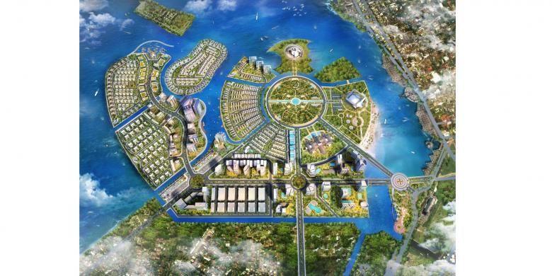 Master plan CitraLand City Losari, Makassar, Sulawesi Selatan.