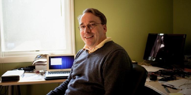 Pendiri Linux, Linus Trovalds