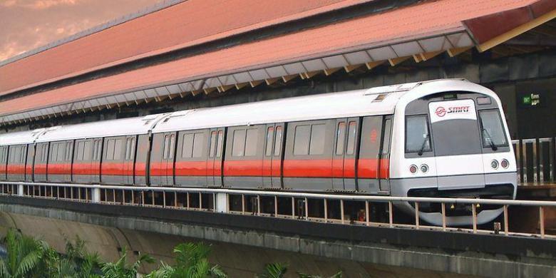 MRT Singapura.