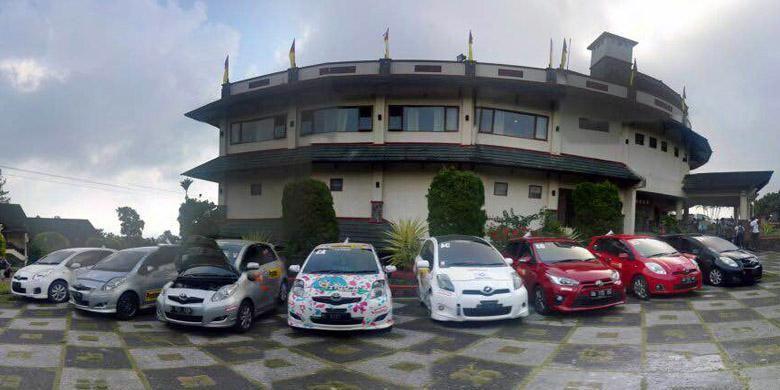 Toyota Yaris Club Indonesia (TYCI) menggelar Jambore Nasional 2015 di Padang, Sumatera Barat.