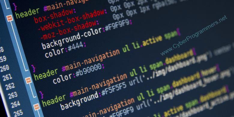 Ilustrasi coding.