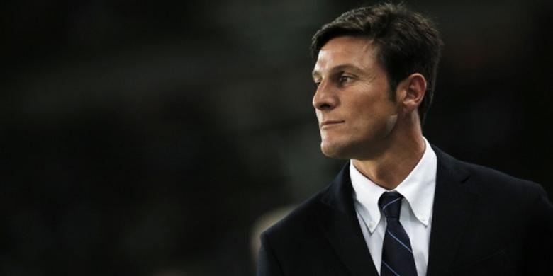 Mantan kapten Inter Milan, Javier Zanetti.