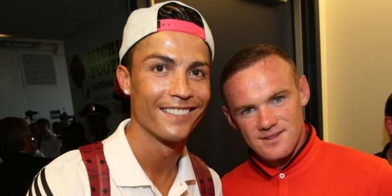 Ronaldo Ingin Main Bareng Rooney Lagi Sebelum Gantung Sepatu