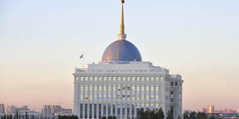 Presidential Palace, Astana, Kazakhstan.