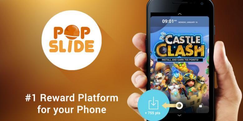 Alikasi PopSlide di toko aplikasi Play Store