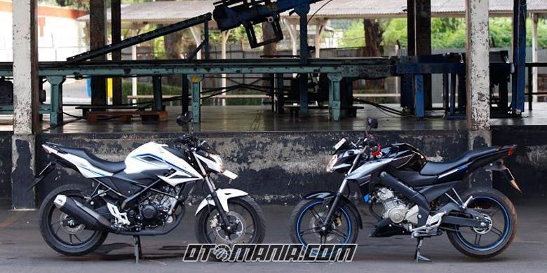 Komparasi Komparasi Honda CB150R Versus Yamaha Vixion