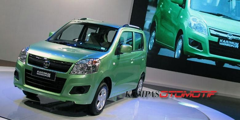 Suzuki Karimun Wagon R di Indonesia International Motor Show 2013.