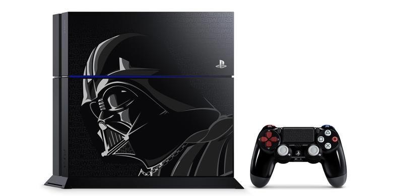 Konsol PS4 dalam versi Star Wars Battlefront