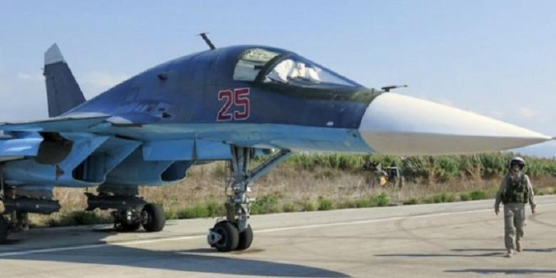 Militer Rusia melancarkan serangan udara di Suriah sejak 30 September 2015.