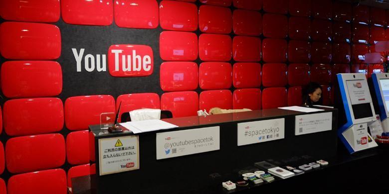 Lobby YouTube Space Tokyo yang terletak di lantai 29 Mori Tower, Roppongi, Tokyo
