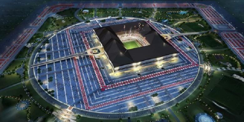 Gambaran Stadion Al Bayt, venue utama Piala Dunia 2022 di Qatar