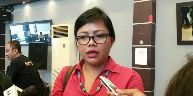 Peneliti Pusat Studi Hukum dan Kebijakan Indonesia, Bvitri Susanti di Jakarta, Sabtu (12/12/2015)