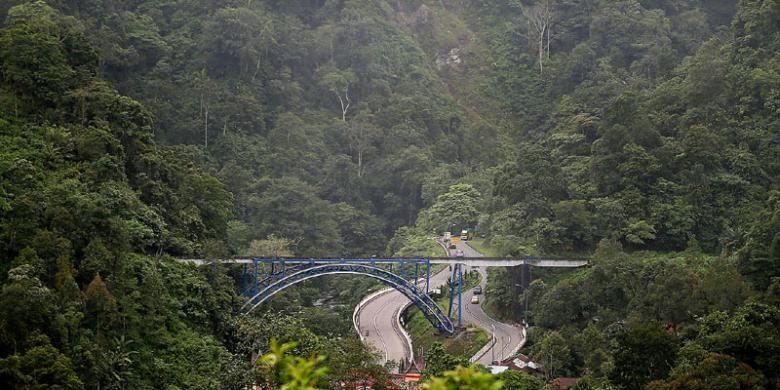 Hasil gambar untuk jalur Padang-Bukittinggi