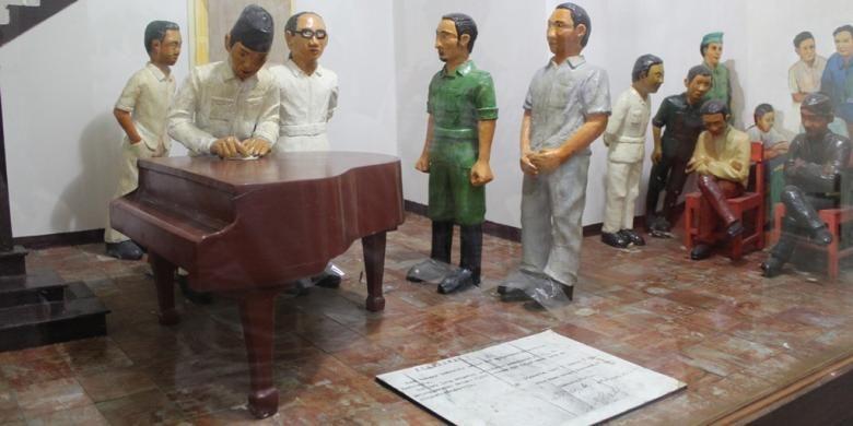 Museum Joang 45 yang berlokasi di di dalam Gedung Joang 45, Jl. Menteng Raya 31, Jakarta, merupakan catatan sejarah mengenai berbagai peristiwa menjelang kemerdekaan RI, Minggu (17/1/2016).