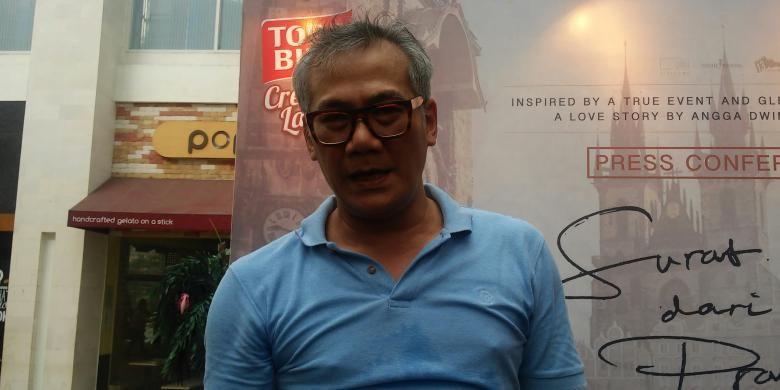 Tio Pakusadewo di XXI Epicentrum, Jakarta Selatan, Senin (25/1/2016).