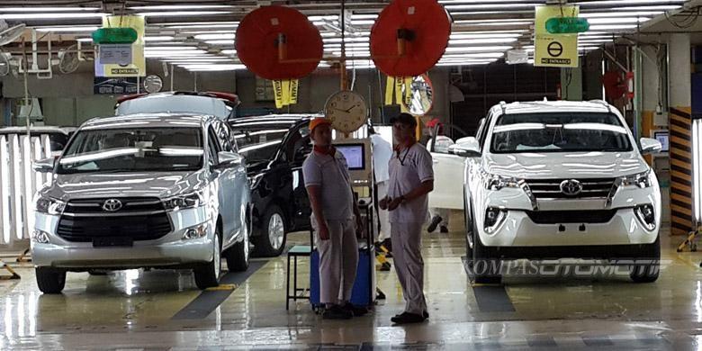 Toyota investasi triliunan rupiah untuk produksi Fortuner dan Innova.