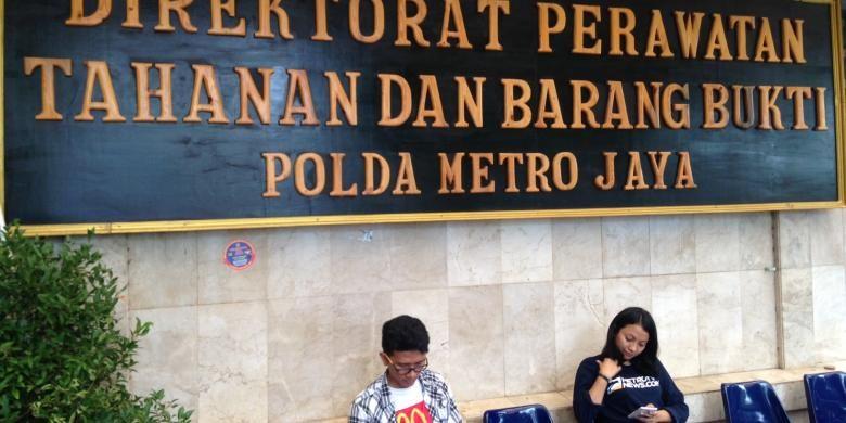 Rutan Polda Metro Jaya, tempat tersangka kasus kematian Wayan Mirna Salihin (27), Jessica Kumala Wongso (27), ditahan untuk sementara waktu, Minggu (31/1/2016).