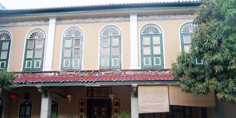 Inilah rumah Tjong A Fie, Majoor der Chineezen atau walikota pertama untuk komunitas China di Kota Medan
