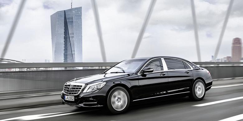 Mercedes-Benz S600 Guard terbaru bersertifikat sertifikat VR10 untuk perlindungan balistika dari Ballistics Authority di Ulm, Jerman.