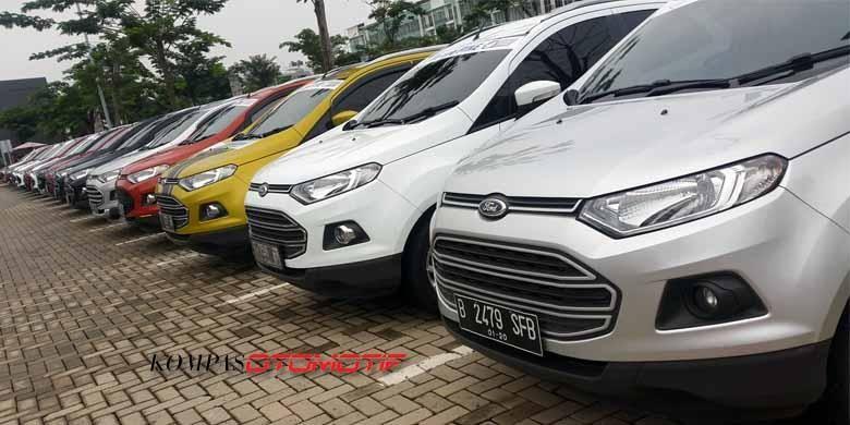 Ford EcoSport Community (Forescom) ikut dalam kumpul akbar para komunitas Ford di Indonesia di Tangerang, Minggu (28/2/2016).
