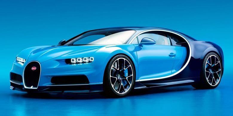 Bugatti Chiron, suksesor Bugatti Veyron sebagai mobil terkencang dan termewah di dunia.