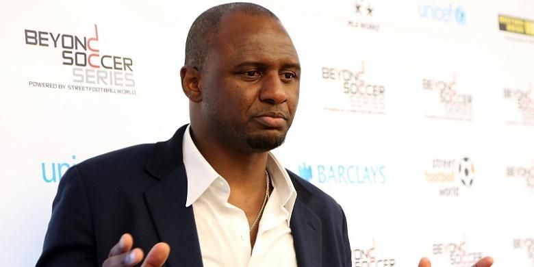 Pelatih New York City FC, Patrick Vieira.