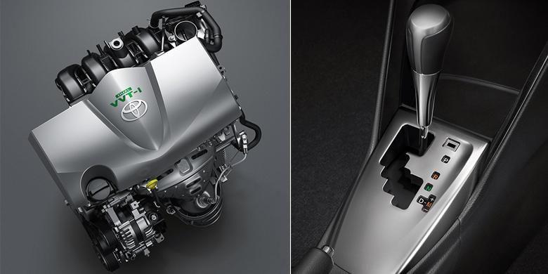 New Vios 2016 menggunakan mesin 1.5L berkode 2NR-FBE dengan dual VVT-i bertenaga 108 tk dan torsi 140 Nm. Pilihan baru ini menggantikan tipe lama 1.5L 1NZ-FE yang sudah digunakan sejak lama. New Vios 2016 juga dilengkapi dengan CVT.