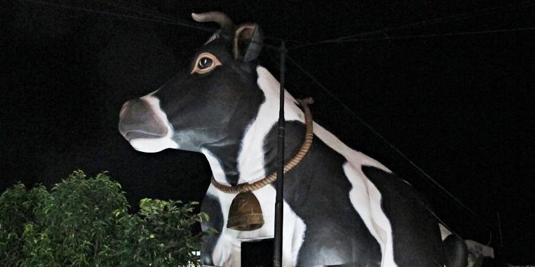 Studio sapi di alun-alun kota Boyolali