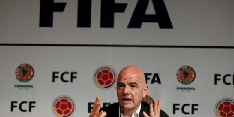 Presiden FIFA Gianni Infantino telah dikaitkan dengan skandal Panama Papers
